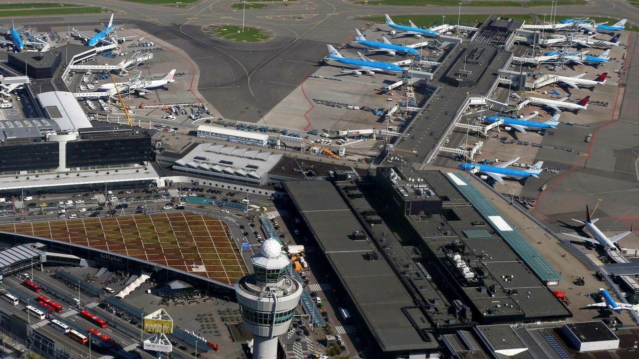 .Aeropuerto de Schiphol (Amsterdam)