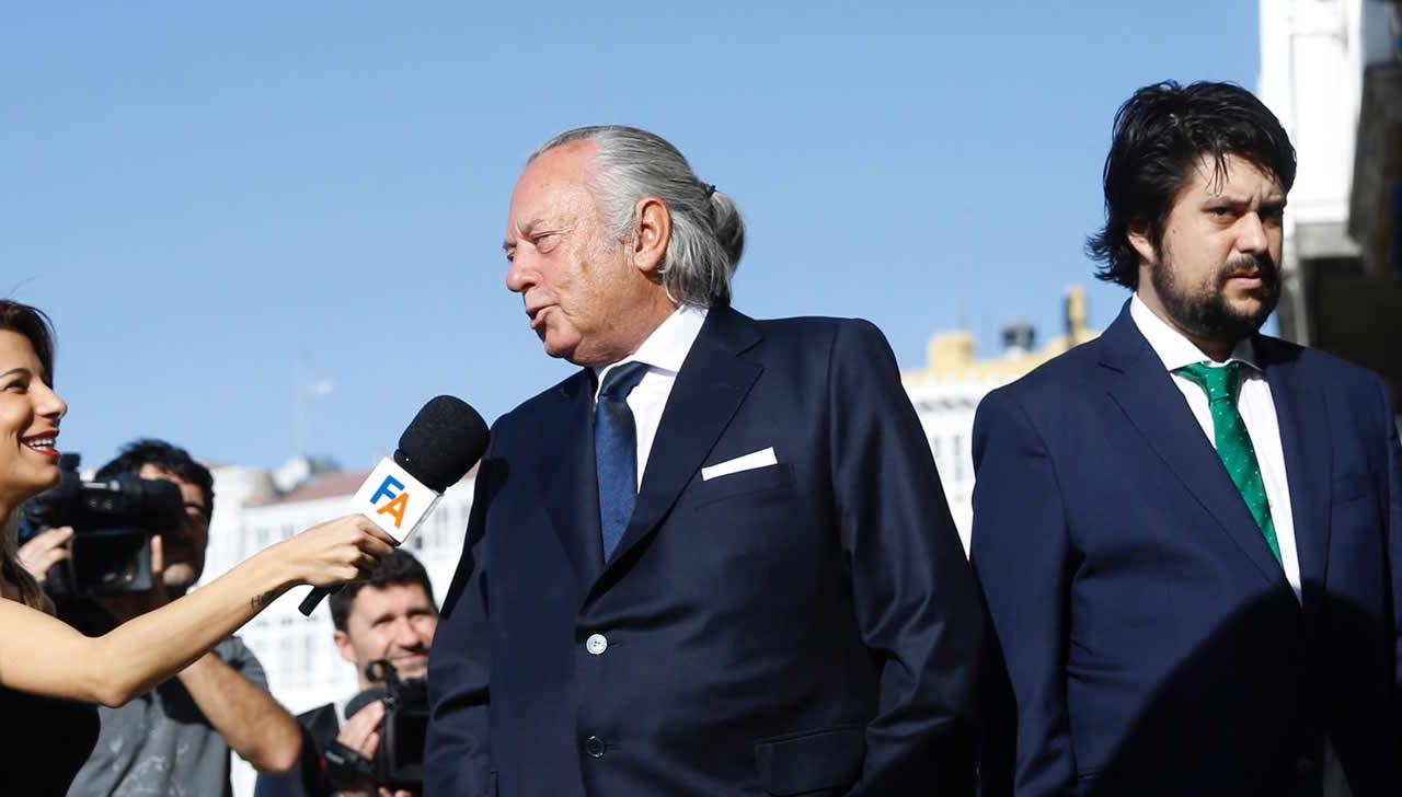 Juan Carlos Rodríguez Cebrián y su hijo