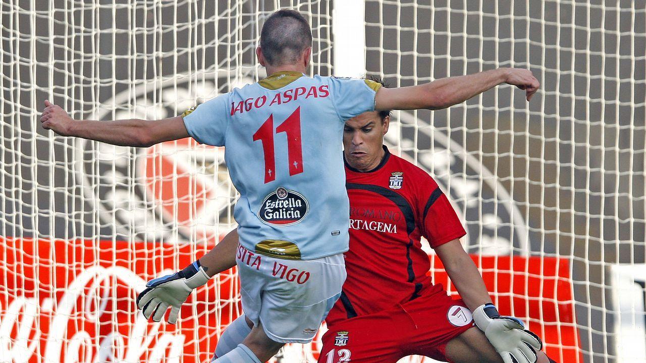76 - Celta-Cartagena (3-0) el 4 de junio del 2011