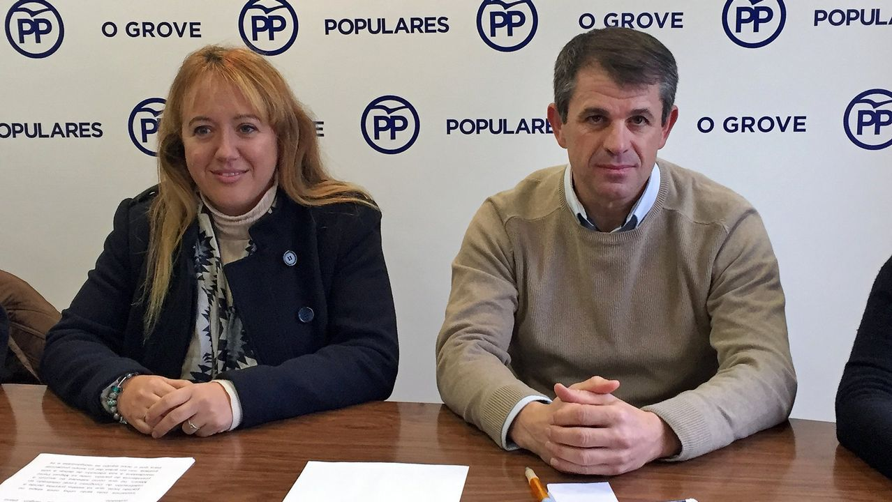 Jesús Pereira, a la derecha de la imagen, pasó muchos años junto a José Luis Baltar (izquierda)