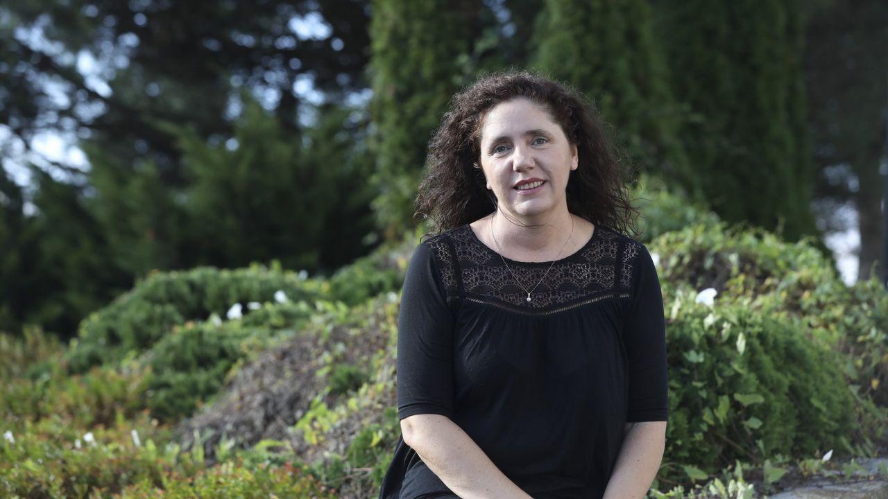 Rosa Arcos fue una de las ponentes en la jornada coordinada por Boca de Sapo en Corcubión