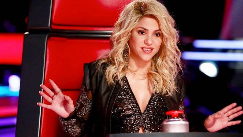 La nueva canción de Shakira.Shakira en «The Voice»