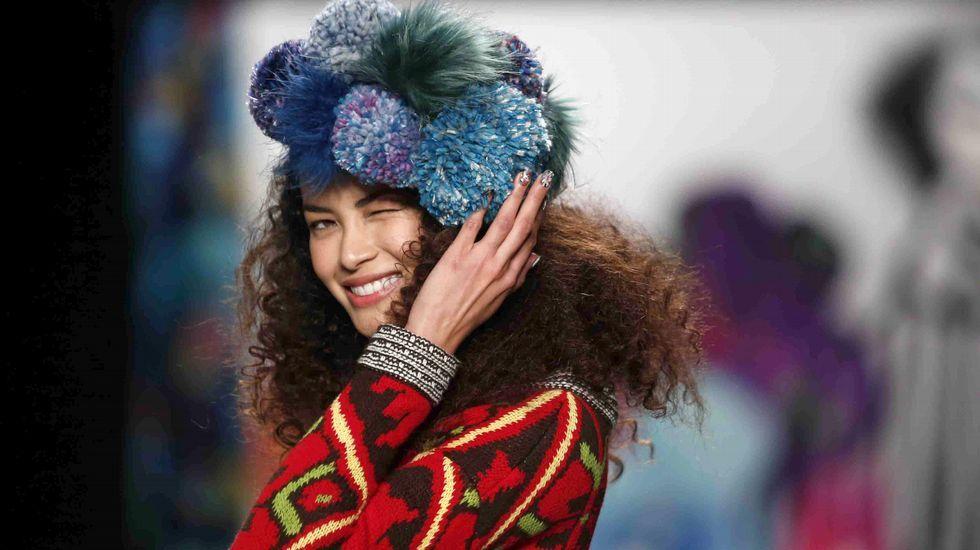 Primera jornada de la Semana de la Moda de Nueva York.Colección de Adidas en la que colabora el rapero Kanye West