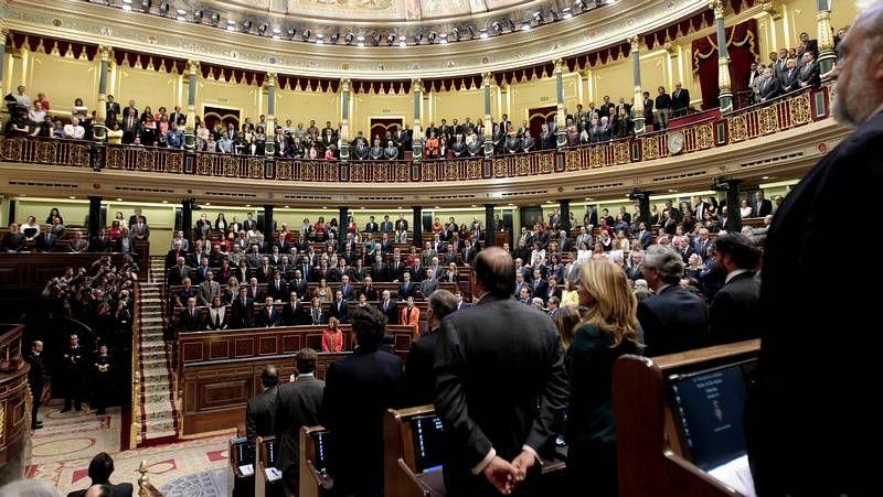 La votación de la ley de abdicación, en streaming.La alcaldesa de Vegadeo, la «popular» Begoña Calleja.