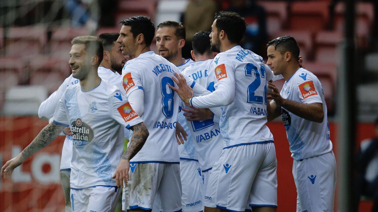 Las imágenes del Sporting de Gijón - Deportivo
