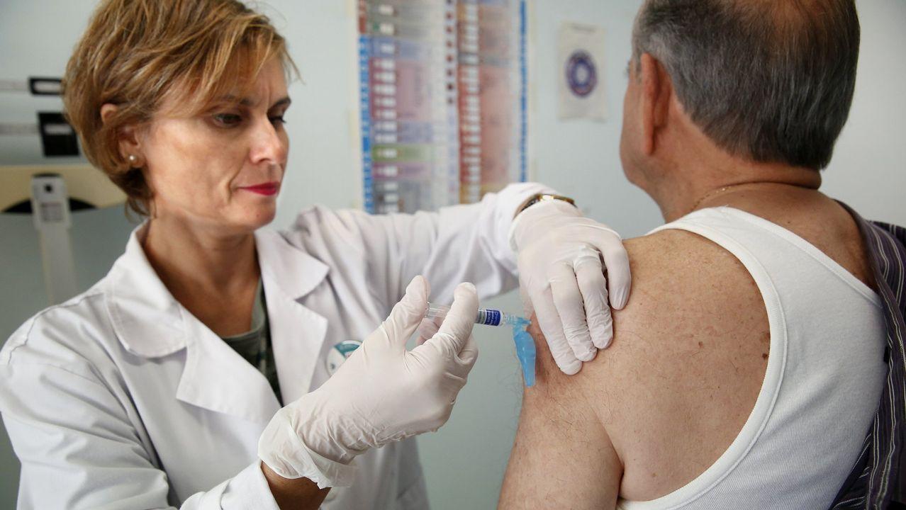 Más de 560.000 gallegos se vacunaron este invierno contra la gripe