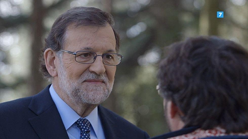 Mariano Rajoy: «Yo a usted no le garantizo nada, salvo que el domingo no habré dimitido».