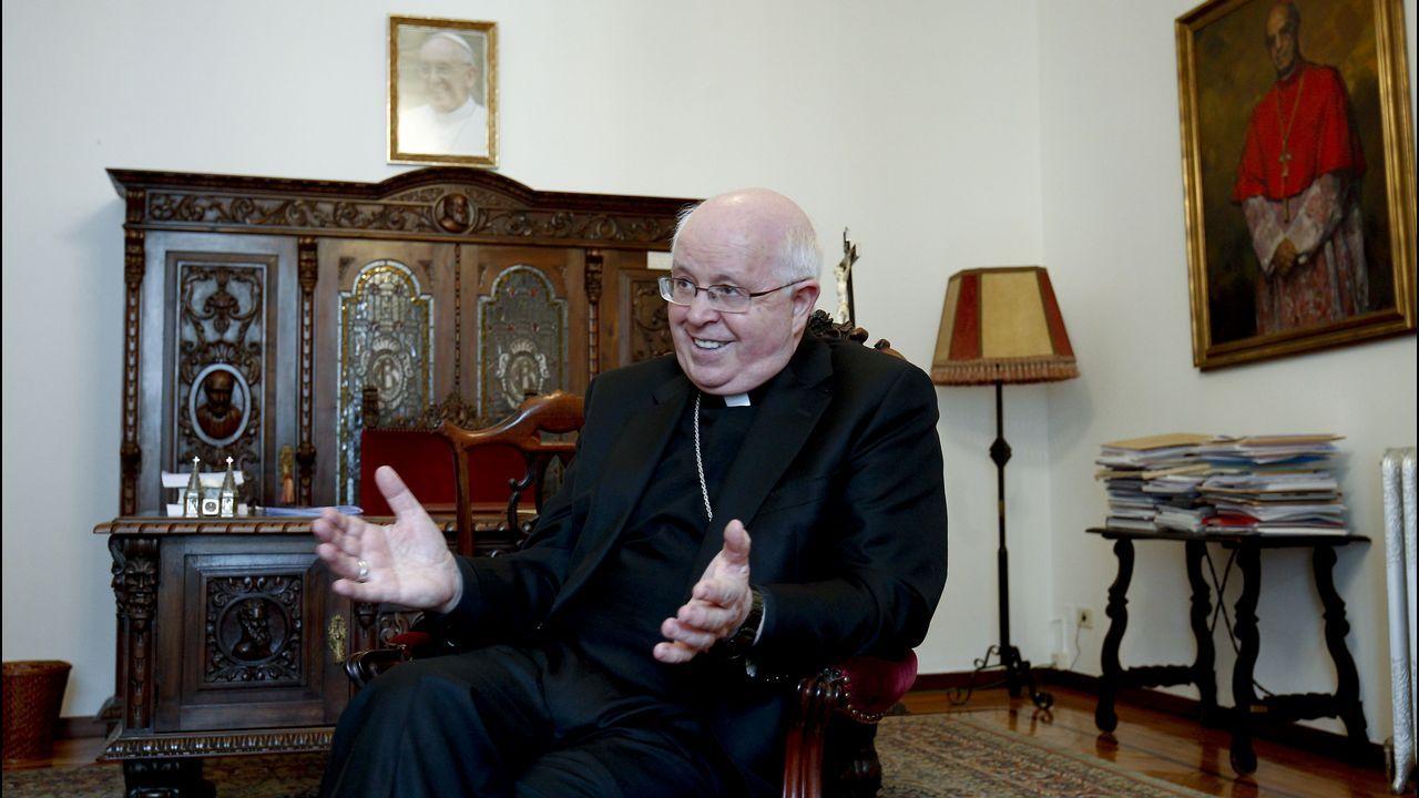 «Asistía a una misa de domingo, sentí un profundo escalofrío y me pregunté: 'Por qué yo no'».El cardenal y arzobispo emérito de Washington Theodore McCarrick, en una imagen de archivo