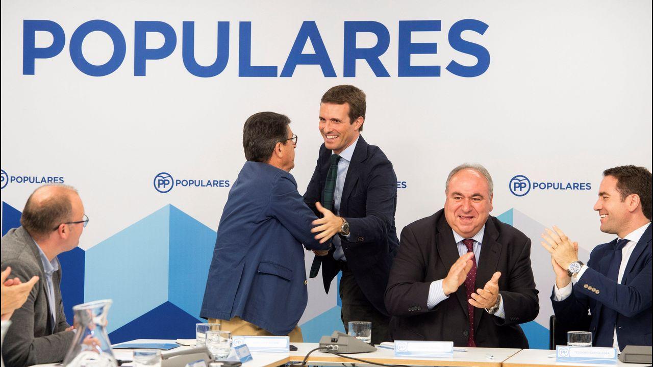 Núñez Feijoo: «Estoy trabajando para la próxima década».José González Vázquez, Consellería do Medio Rural