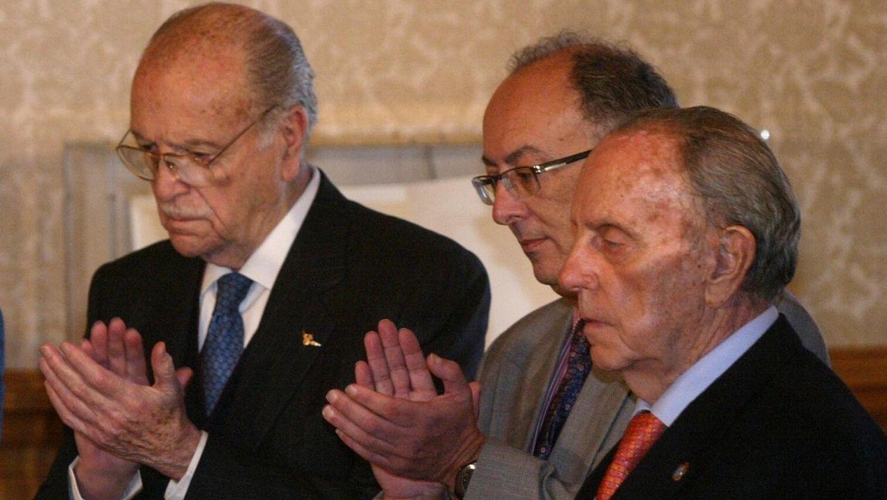 .Acto conmemorativo del XXV aniversario del Estatuto de Autonomía de Galicia en el pazo de Raxoi