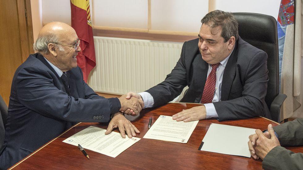 José de Sousa y Gerardo Seoane firmaron el convenio
