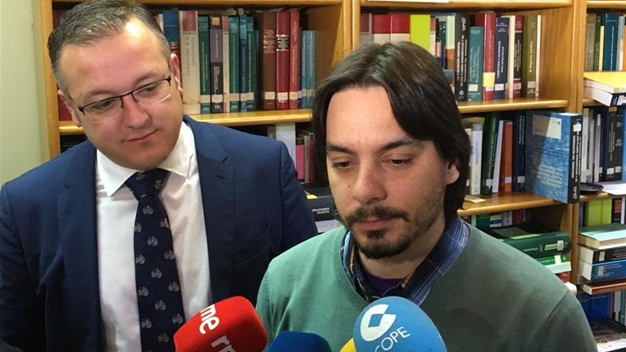Ignacio Fernández del Páramo, concejal de Urbanismo; y Joel García, presidente de CAC-Asprocon