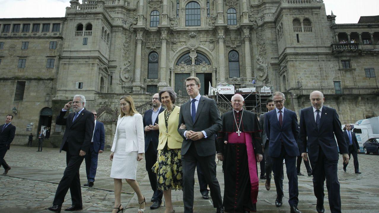 Santiago recobra su terraza más insigne