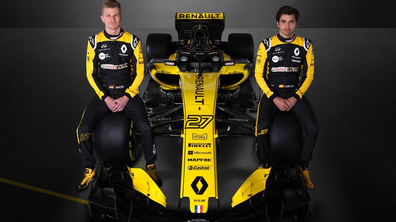 .Patrocinio de Estrella Galicia con Renault