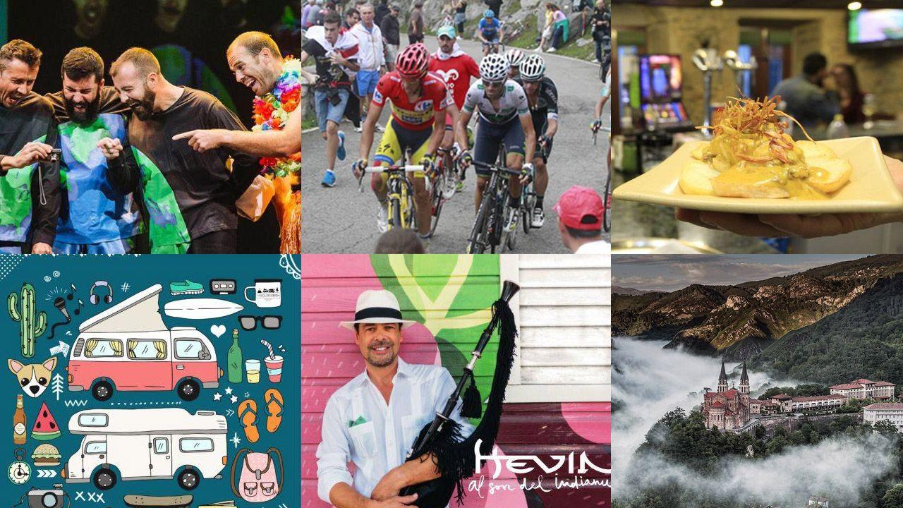 Agenda asturias Hevia tapas teatro Vuelta ciclista Covadonga.La IV Carrera Solidaria recauda 1.000 euros para la Fundación Sandra Ibarra y su lucha contra el cáncer