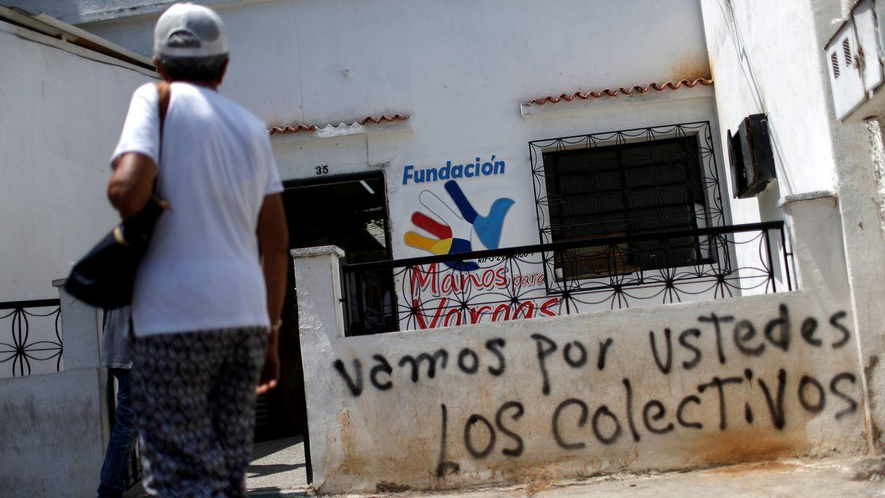 Pintadas amenazantes aparecieron en las casas de los opositores y sedes de los partidos