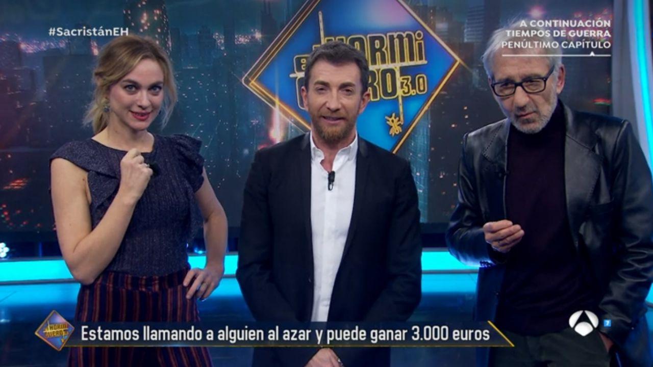 Imagen del programa  El Hormiguero 3.0  con José Sacristán