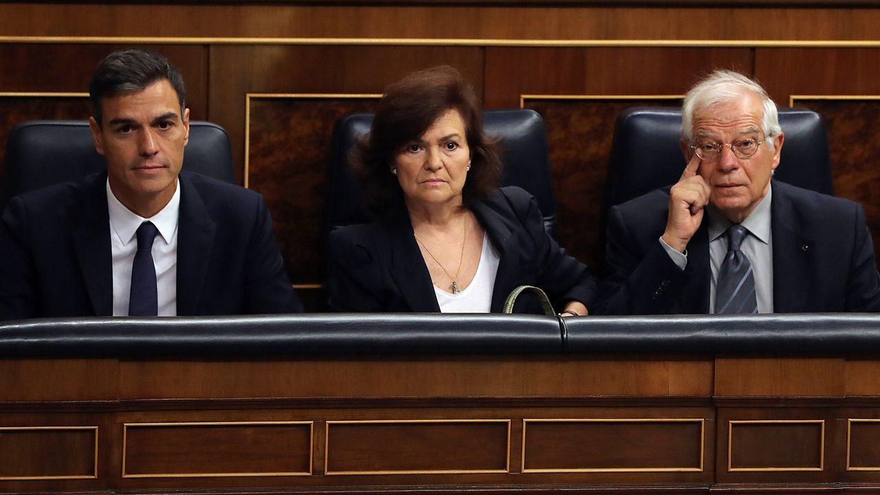 Pedro Sánchez: ?No nos va a marcar la agenda un corrupto?.Pedro Sánchez durante su intervención en la Asamblea General de la ONU