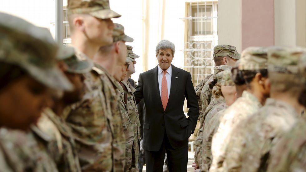 John Kerry, en un homenaje a Hiroshima