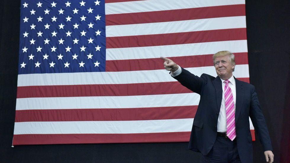 Trump, el presidente de los «estados divididos» de América