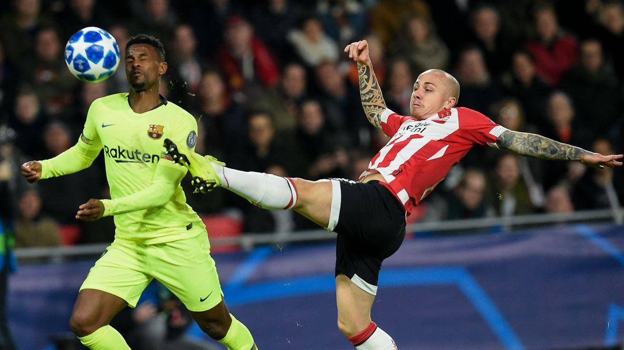 El gallego Angeliño realizó un gran partido contra el Barcelona