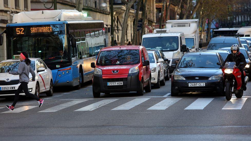Los coches con matr cula par no pueden circular hoy por la - Matricula coche hoy ...