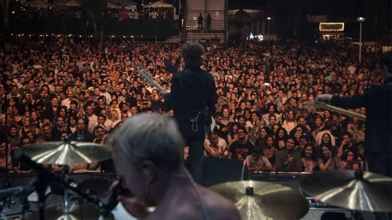 .Mando Diao en el festival Metrópoli Gijón