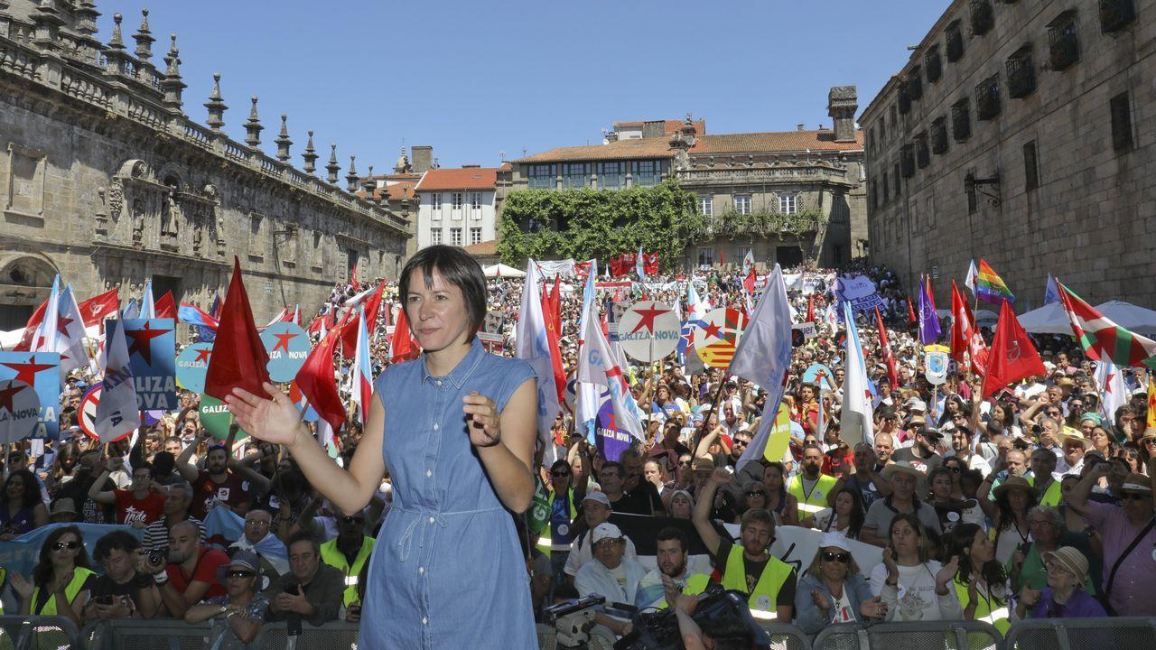 Acto del BNG en Santiago con motivo del Día da Patria.