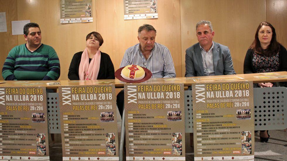 Alicia Bellón y Queca Aguilar abrieron las puertas de la Artesa en Canido la semana pasada