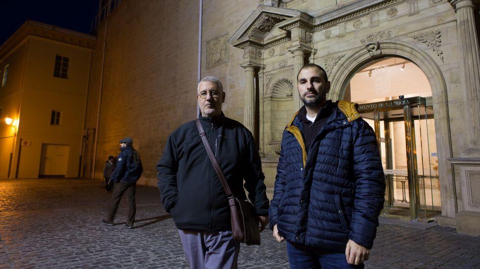 La colección municipal gijonesa: mucho más que pintura.Dos trabajadores gallegos que han padecido dos veces el traslado de dos sedes anteriores