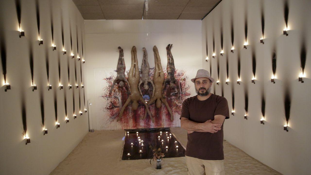 .Exposición «Eclipse Sirio» en el Palexco