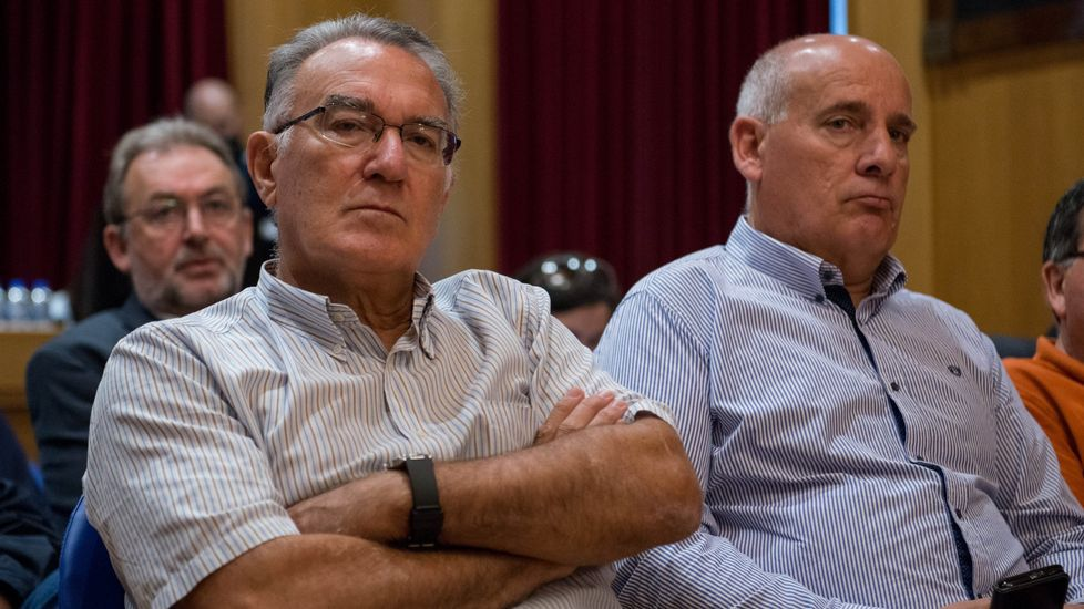 García acudió al pleno de la Diputación en el que fue reprobado en agosto de 2017