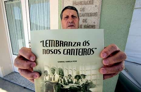 Gabriel Varela presentou o seu traballo o pasado domingo na Casa dos Veciños de Brantuas.