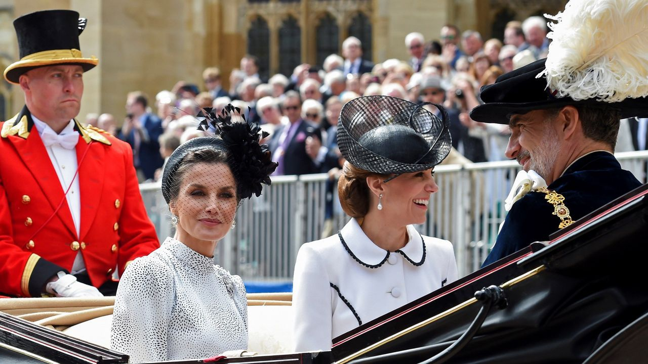 Felipe VI y la reina Letizia, con Isabel II en Londres.Los delincuentes encargan crímenes a menores para evitar ser detenidos por la Policía