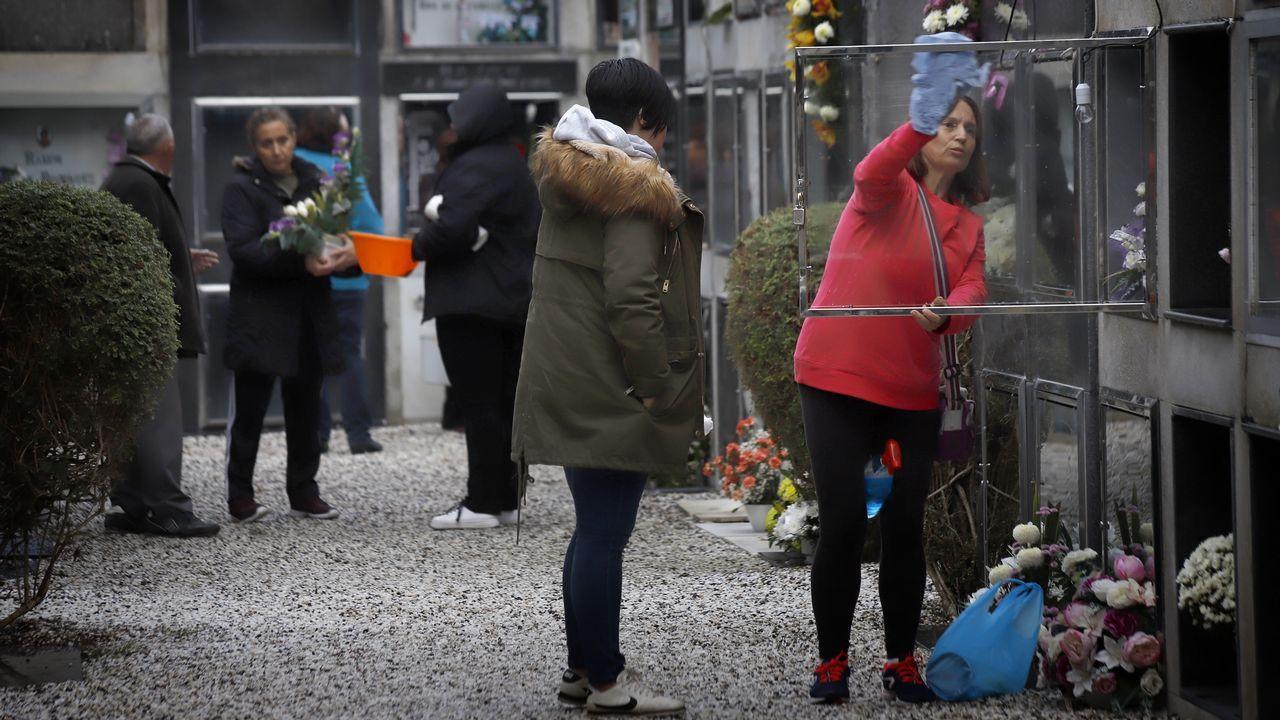 Los cementerios de la comarca se ponen a punto para celebrar el día de Difuntos