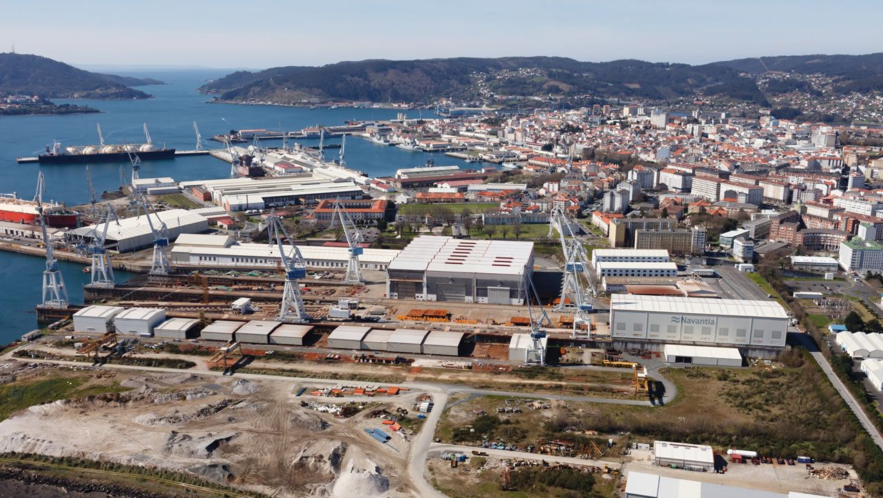Así fue la movilización de los trabajadores del naval auxiliar de Ferrol