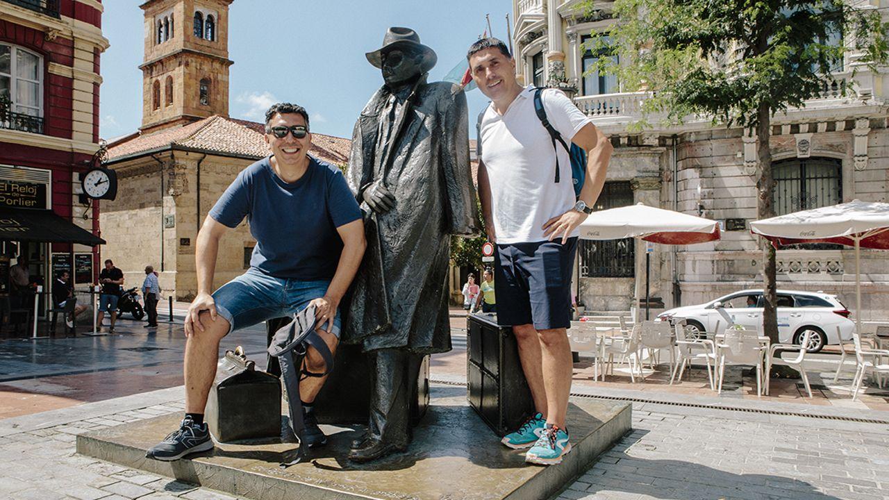 Los turistas explican sus opciones preferidas para el alojamiento en Asturias.Anquela en El Requexón