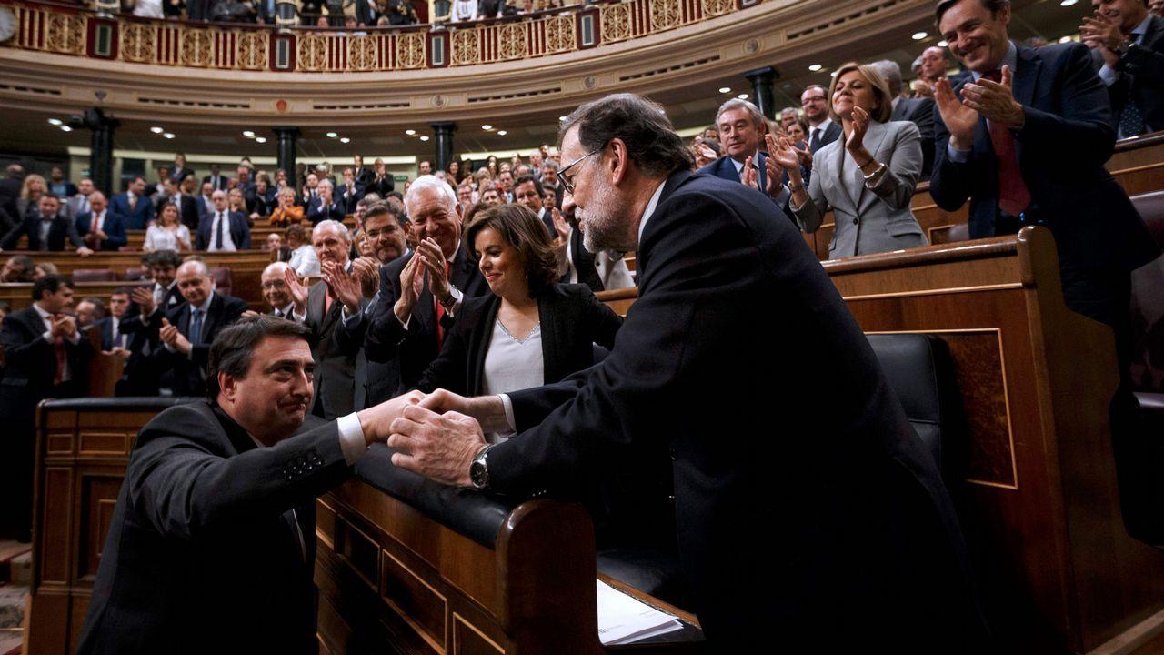 Rajoy afirma que «el PP es mucho más que diez o quince casos aislados» de corrupción