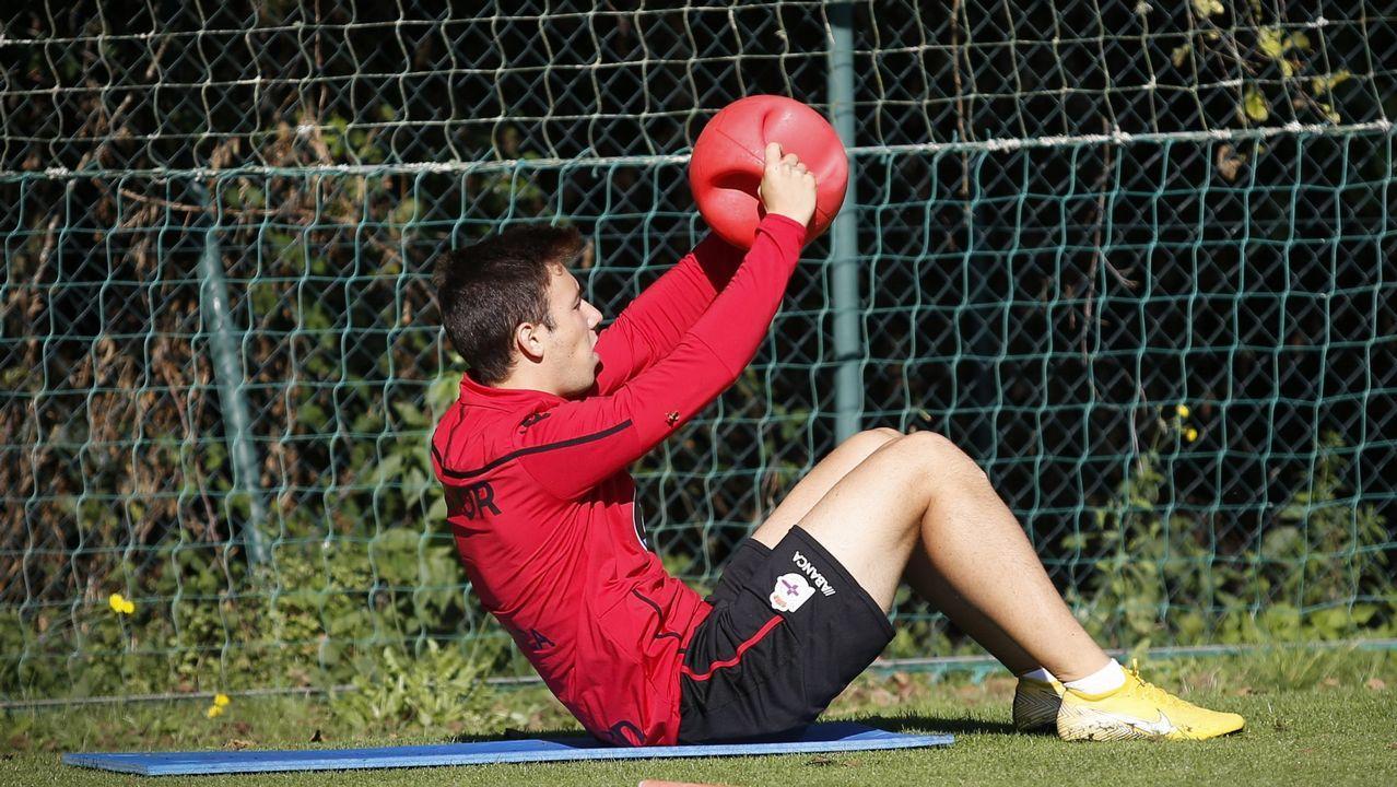 Nahuel reforzó al Deportivo en el mercado de invierno