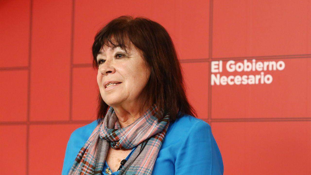 Centro penitenciario de Villabona.La presidenta del PSOE, Cristina Narbona, en la sede del partido en Ferraz
