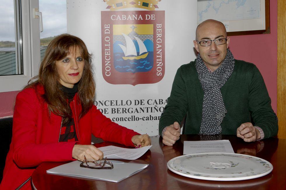 Vilela y Muíño, ayer, presentando el programa del congreso.