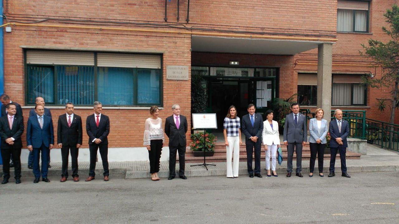 La reina Letizia preside la apertura del curso escolar