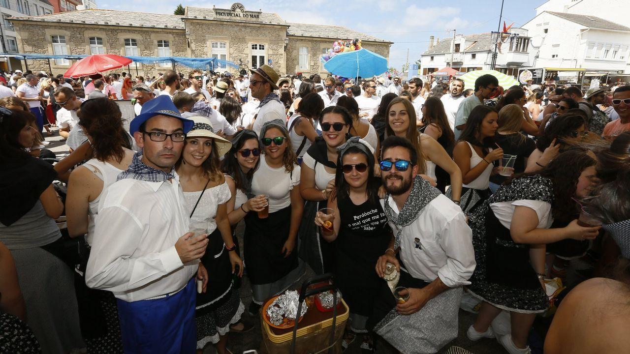 A Maruxaina, fiesta total en San Cibrao