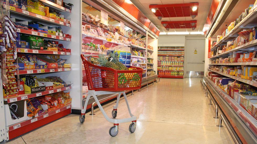 Uno de los supermercados dentro del estudio de la OCU