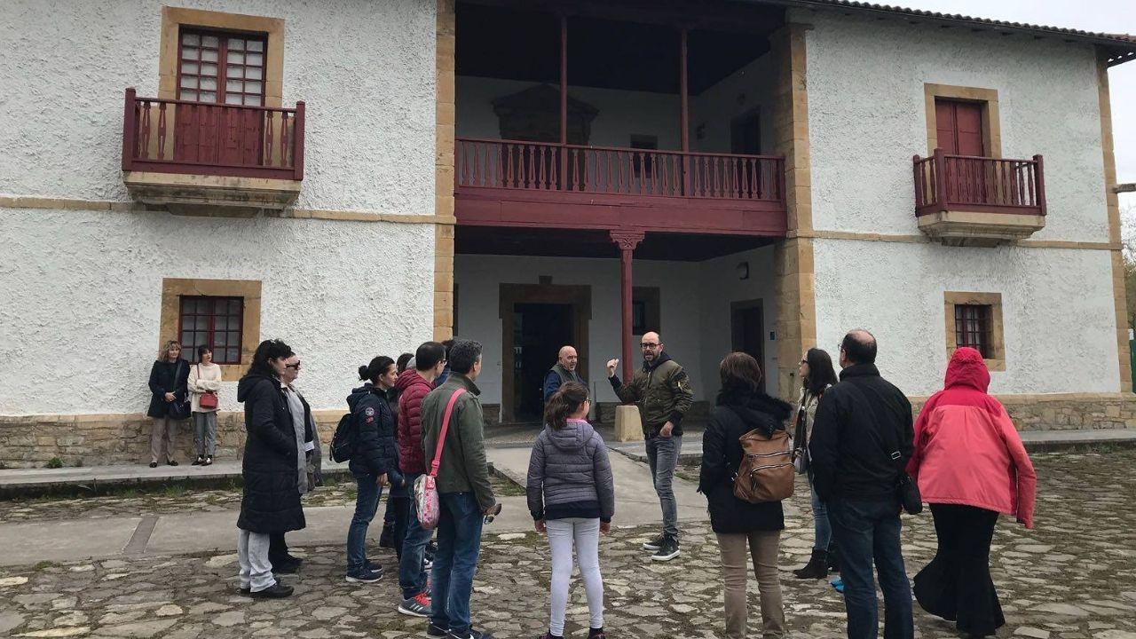 Los nuevos locales del Oviedo antiguo.Visita al Museo del Pueblo de Asturias