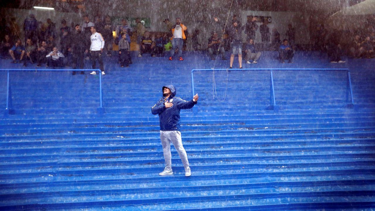 La tormenta se lleva por delante el superclásico argentino