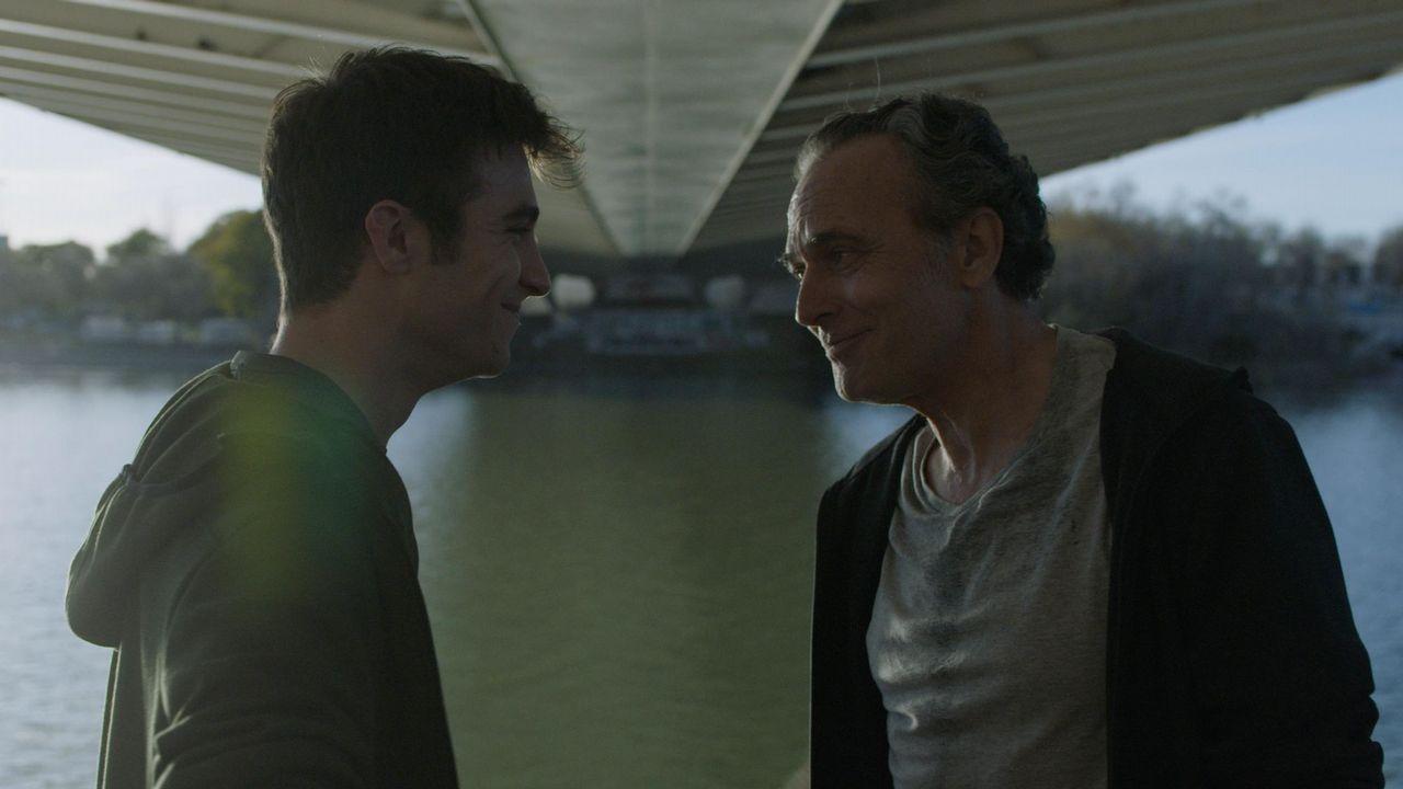 Luis Zahera (derecha) junto a Antonio de la Torre. Ambos optan al Goya a mejor actor de reparto por «El reino»
