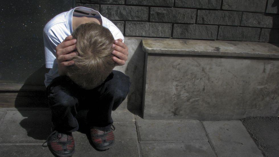 .Los niños que sufren acoso escolar pueden tender a aislarse por inseguridad