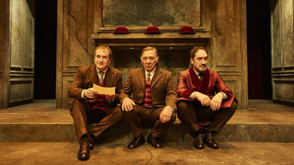 Fernando Cayo, José Pedro Carrión y Alfonso Lara protagonizan Páncreas, de Patxo Tellería.