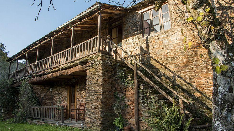 Otra vista de la casa de turismo rural de Penacova
